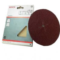 "Bosch Sanding Discs 40 Grit Coarse 125mm 5"" For Drill Rubber Backing Pads     YD"